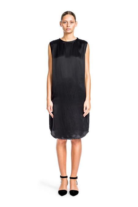 Beth Richards Silk Pilar Dress - Black