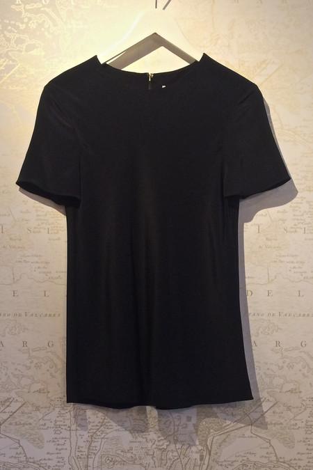 Tibi Silk 'Bias' T-Shirt