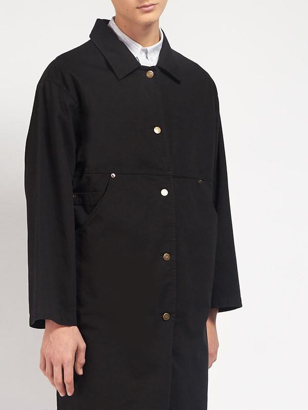 Men's 69 Simple Coat Black