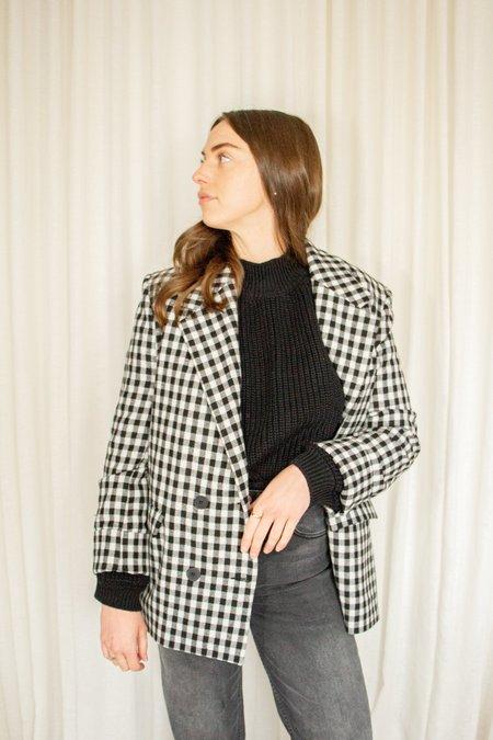 Rita Row Doris Checkered Blazer