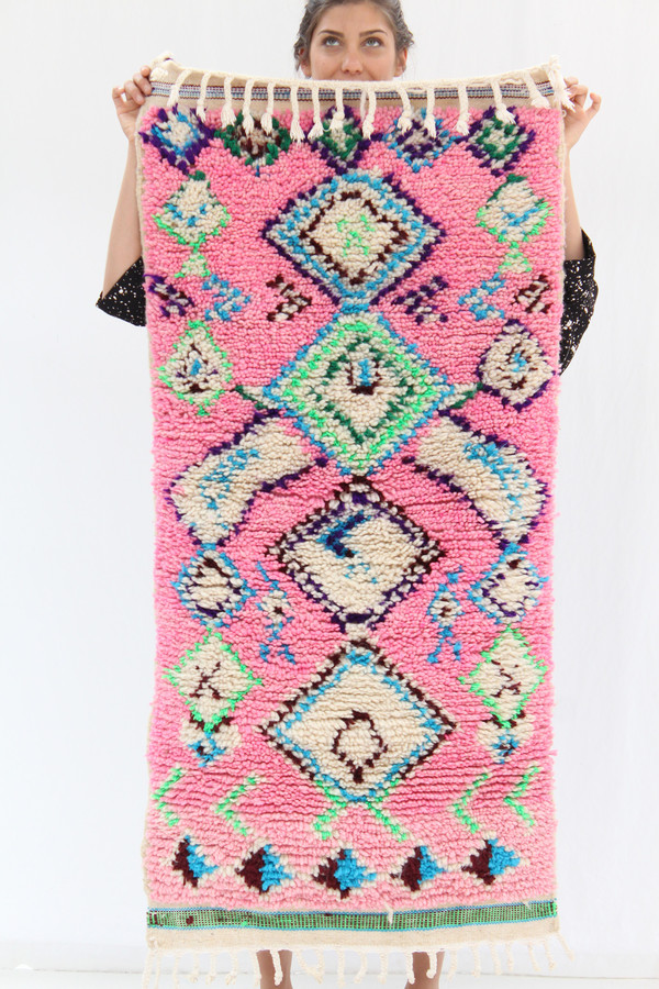 Azilal Rug A2 Pink