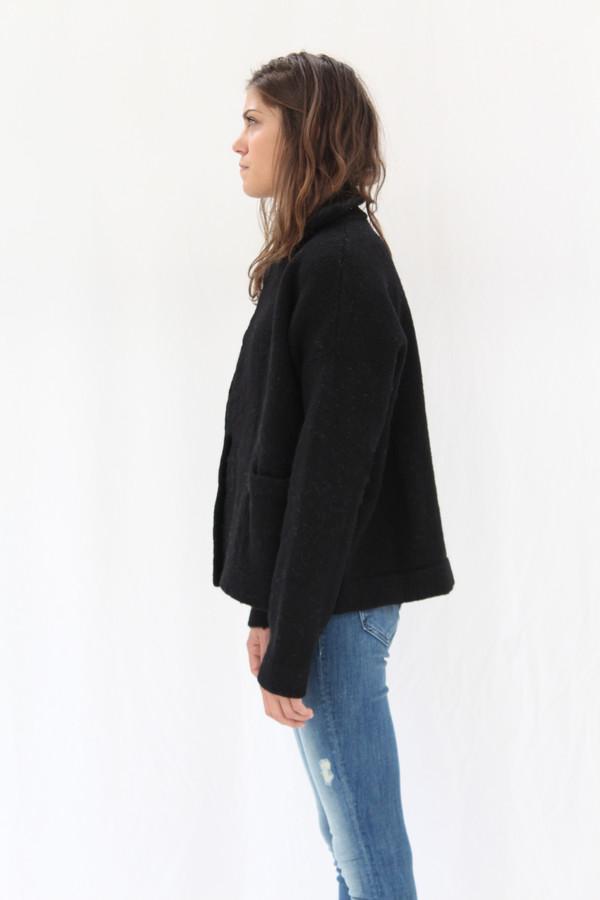 Lauren Manoogian Pea Coat Black