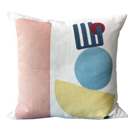San Junipero Pink Stack Pillow