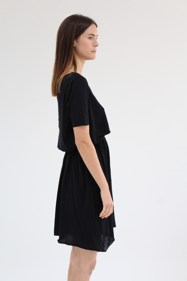 Beklina Detached Dress Black