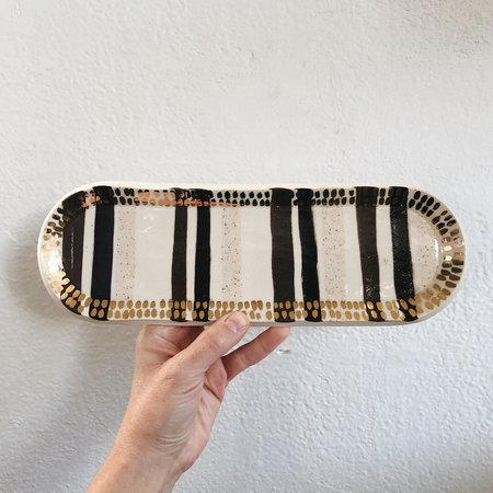The Object Enthusiast Inlay Tray - Gold
