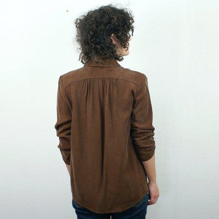 COKLUCH Norma Shirt - Moka