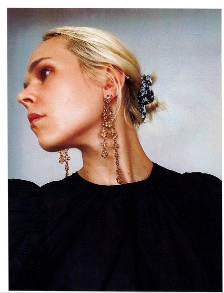 CLARK JEWELRY Rosary Earrings - 18K Gold Vermeil