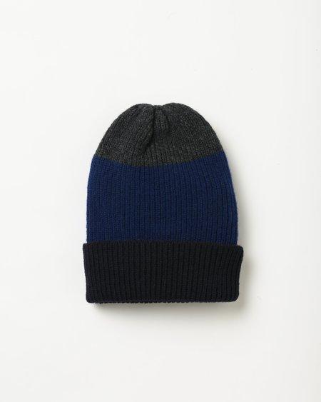 Country of Origin Sample Hat - gray/blue/black