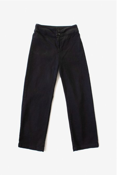 North Of West Monica High Rise Jean - Black