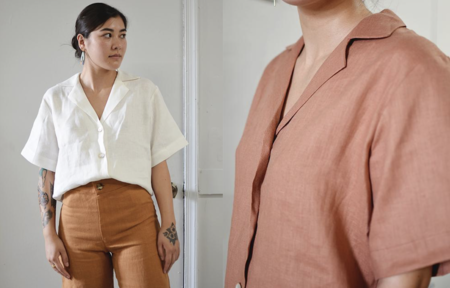 Coeur Daria Linen Shirt