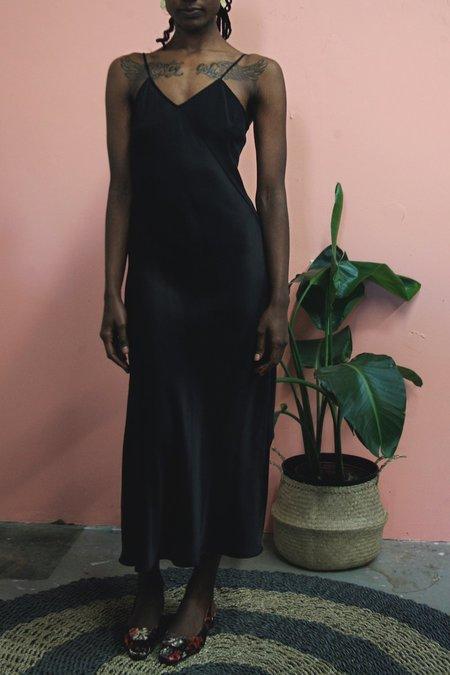 SiiZU Silk Slip Dress