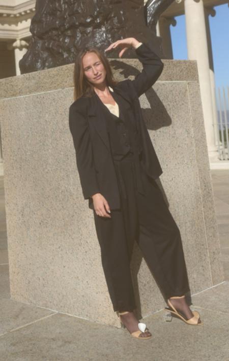 Kamperett x Anaïse Wool Suit Blazer