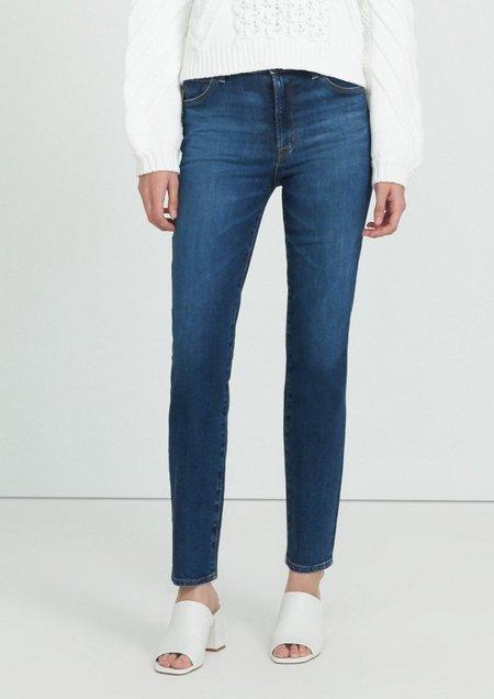 J Brand Teagan High Rise Straight Jeans - Arcade
