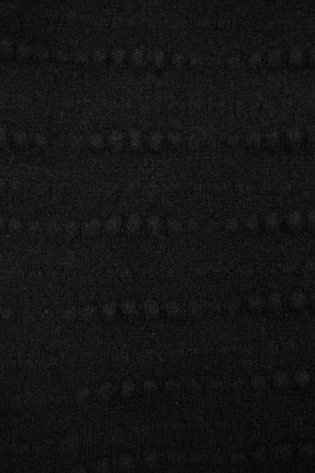 UNISEX Ros Duke SLUB SCARF - Black