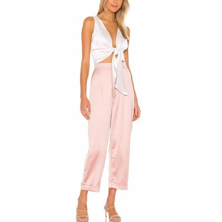 NonChalant Averie Pant - Pink