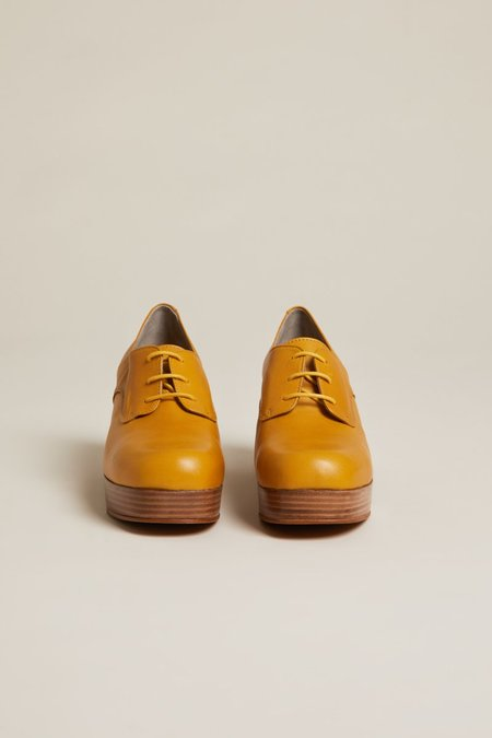 """""""INTENTIONALLY __________."""" ALBANY shoes - Mustard"""