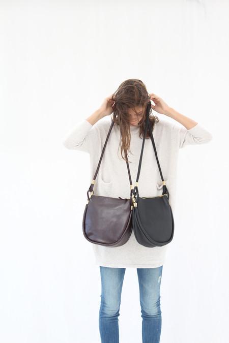 AANDD Sea Sack Bags In Black & Currant