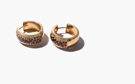 Kindred Black Sahara Earrings - 14K gold