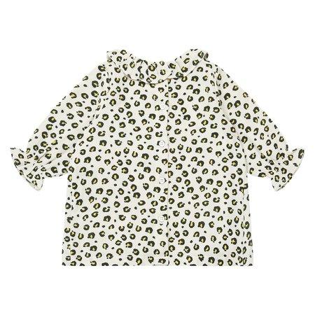 KIDS Bonton Baby Bliss Leopard Print Dress - Beige