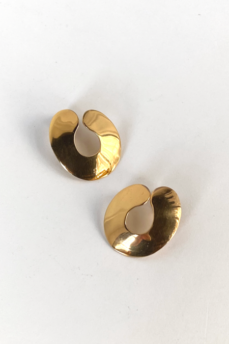 [Pre loved] Louise Olsen Earrings - 24k Gold Plated