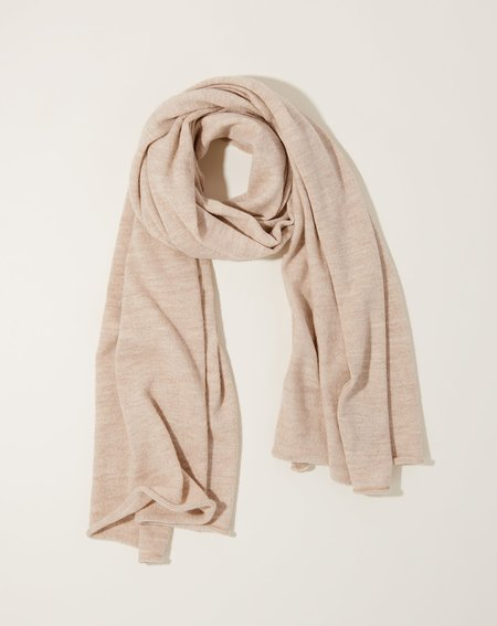 Lauren Manoogian Fine Wide Scarf - Hessian
