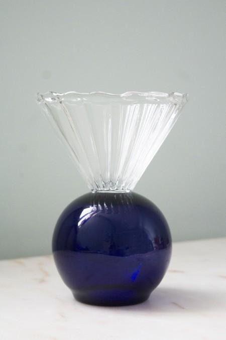 Natalia Criado Crystal Cup - Blue