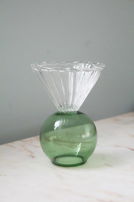 Natalia Criado Crystal Cup - Green