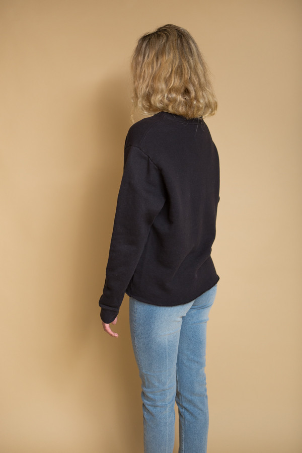 OAK Crewneck Sweatshirt - Black