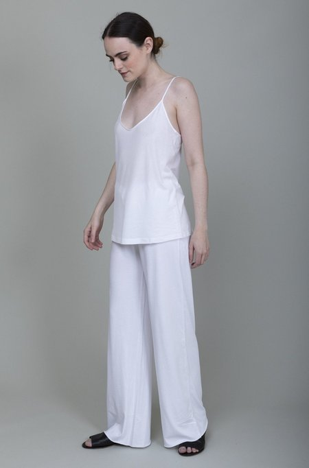 Skin Double Layer Pant - White