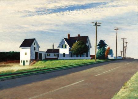 Hatje Kantz Edward Hopper A Fresh Look on Landscape Book
