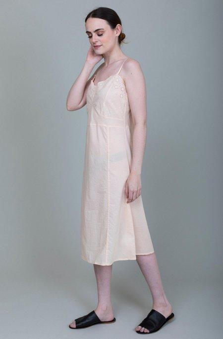 Domi Sleepwear Embroidered Slip - Blush