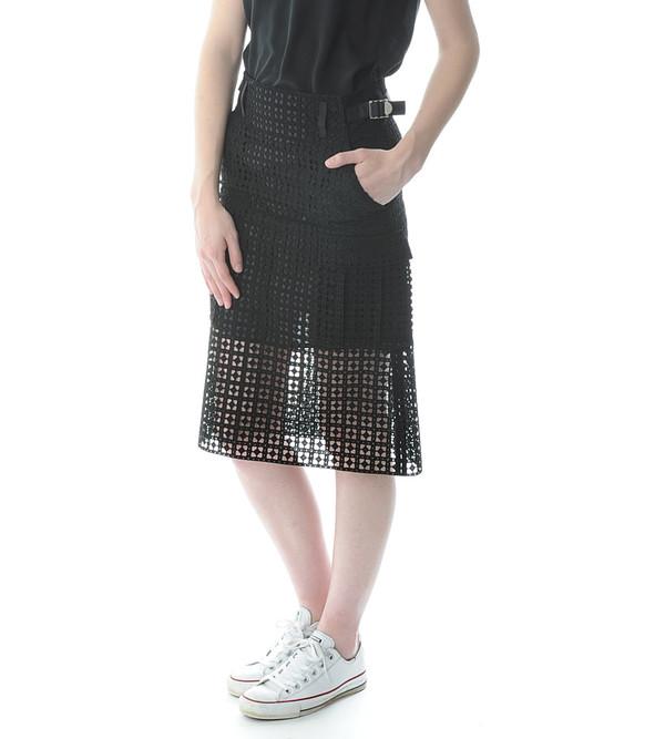 Sacai Luck Cutout Utility Skirt