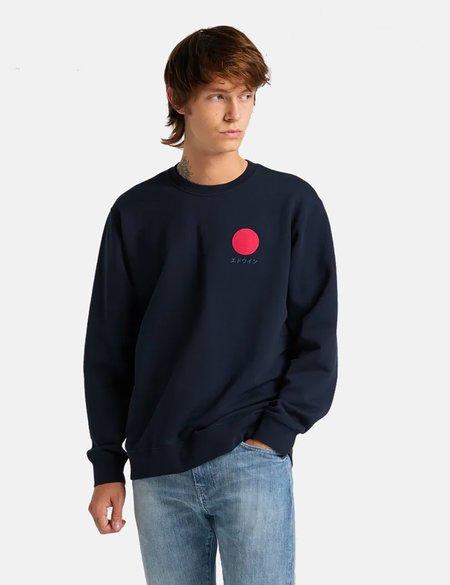 Edwin Japanese Sun Sweatshirt - Navy Blue