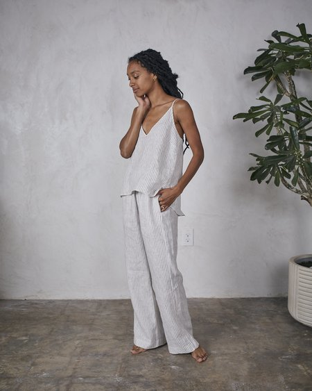 Esby Remi Lounge Pant - Tanner Stripe
