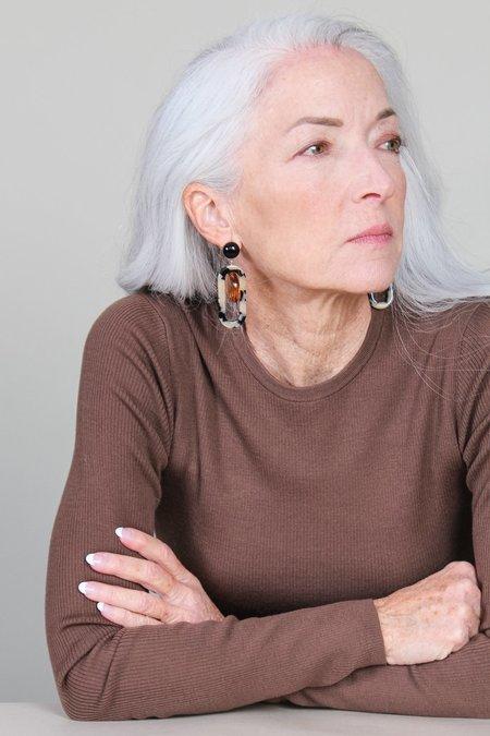 Rachel Comey Lohr Earring - Dalmatian Multi
