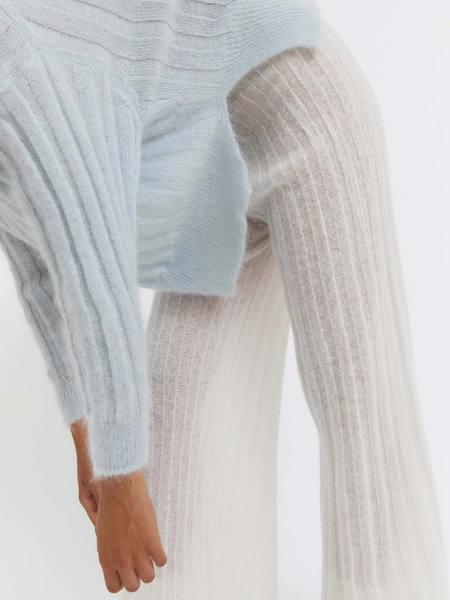 Rus the Brand Makura Sweater - Pale Blue
