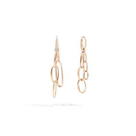 Pomellato Gold Earrings - 18k Rose Gold