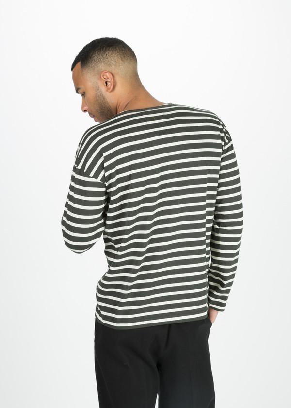 Men's Margaret Howell Matelot Naval Stripe Shirt