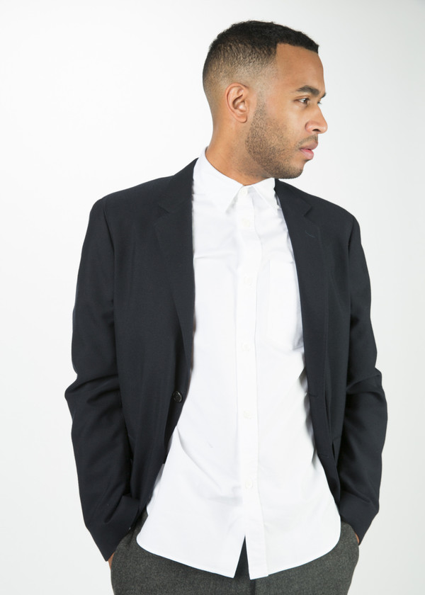 Men's Margaret Howell Washed Wool Blazer
