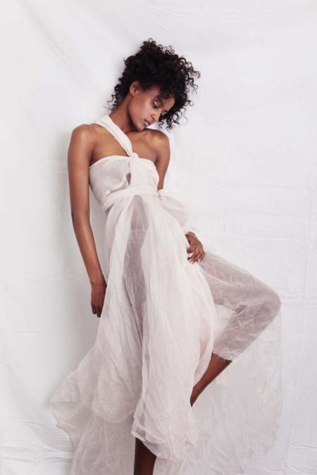 A LA ROBE Pirouette Blush Skirt  ALR O/S  - White