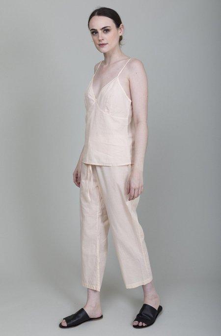 Domi Sleepwear Cotton Cami Set - Blush
