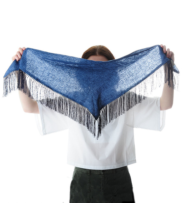 destin Denim Unito Triangolo Scarf