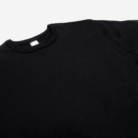 3Sixteen Pima Cotton Plain T Shirt - Black