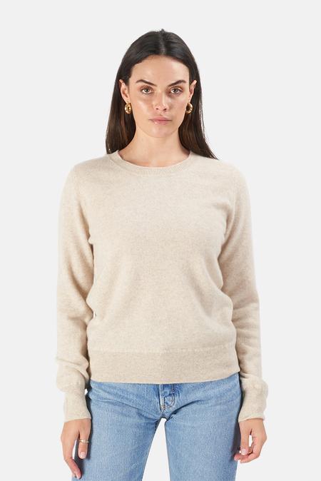 Naadam Crewneck Pullover Sweater - Oatmeal