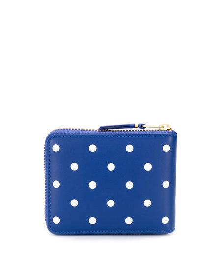 Unisex Comme des Garçons Pois Wallet with Zip