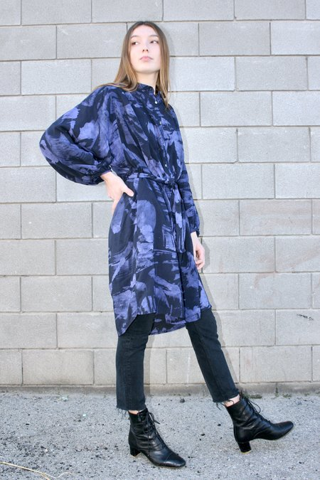 Osei-Duro Flouncy Dress - Rorschach