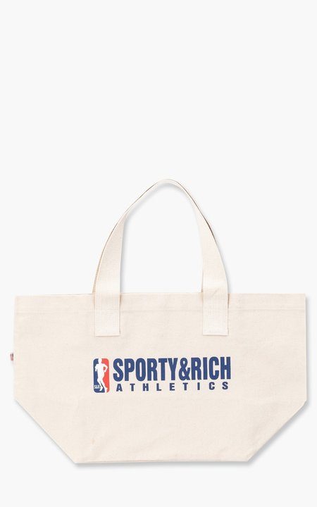 Sporty & Rich Team Logo Tote - Natural