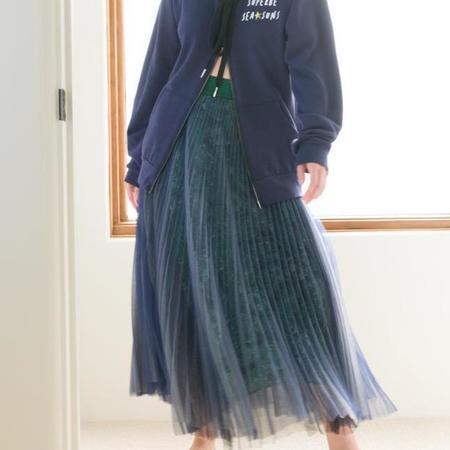 Le Superbe Hidden Gems Pleated Skirt