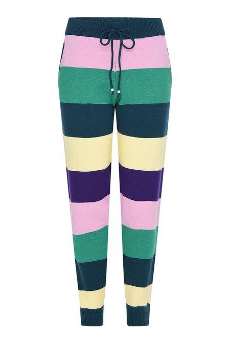 Olivia Rubin Tilda Stripe Knitted Joggers - Multi