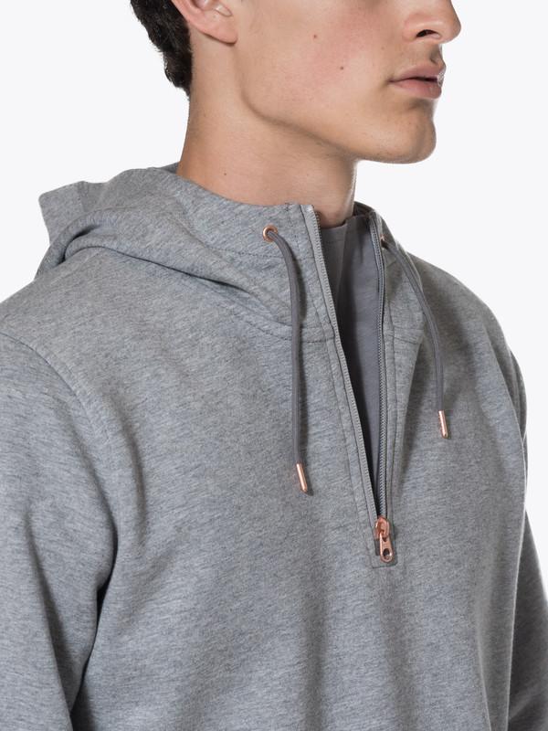 Men's Levis Made & Crafted CM Half Zip Hoodie Molleton
